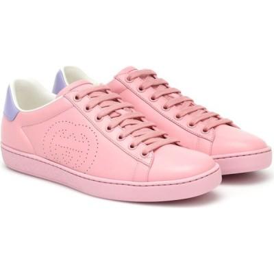 グッチ Gucci レディース スニーカー シューズ・靴 new ace leather sneakers Wild Rose