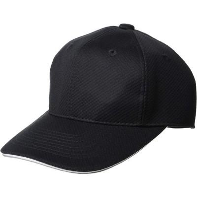 [エスエスケイ] ベースボールウェア 6方型アメリカンメッシュベースボールキャップ [メンズ] BCG062 ブラック (90) 日本 55 (FRE