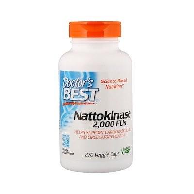 Best Nattokinase, 2,000 FUs, 270 Veggie Caps
