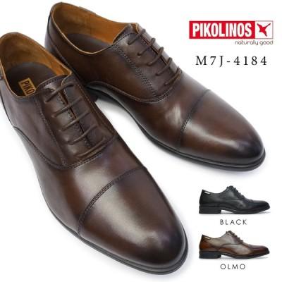ピコリノス 靴 メンズ M7J-4184 ストレートチップ PK-295 本革 ビジネスシューズ