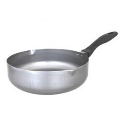 フライパン 匠の技 おなべのような鉄フライパン 25cm IH対応 ( ガス火対応 深型フライパン 片手鍋 25センチ いため鍋 炒め鍋 ディープパン 鉄フライパン 鉄製フライパン キッチン用品 オール熱源対応 天ぷら鍋 ソースパン )