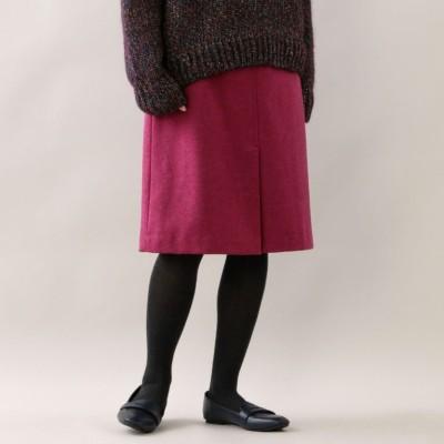 カラートップツイード トラペーズスカート