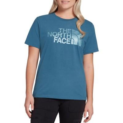 ザ ノースフェイス The North Face レディース Tシャツ トップス Luxe HD Graphic T-Shirt Mallard Blue
