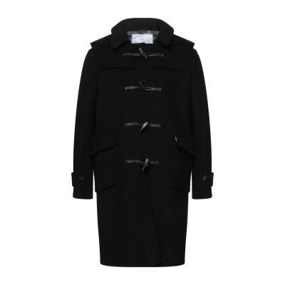 MONTGOMERY コート ブラック M ウール 70% / ポリエステル 30% コート