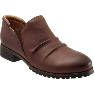 ソフトウォーク SoftWalk レディース ブーツ ショートブーツ シューズ・靴 Mara Ankle Bootie Brown Espresso Leather