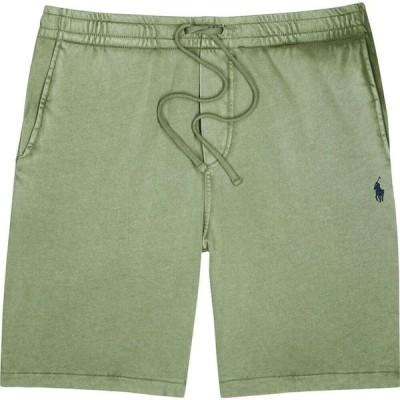 ラルフ ローレン Polo Ralph Lauren メンズ ショートパンツ ボトムス・パンツ faded green cotton terrycloth shorts Green