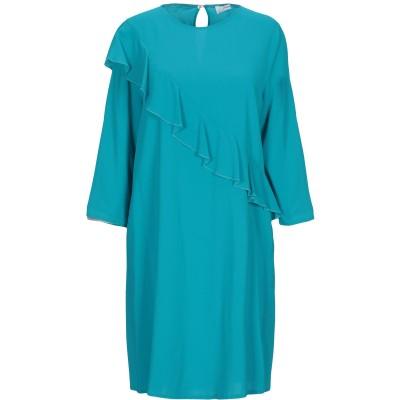 ジャッカ JUCCA ミニワンピース&ドレス ターコイズブルー 44 レーヨン 95% / ポリウレタン 5% ミニワンピース&ドレス