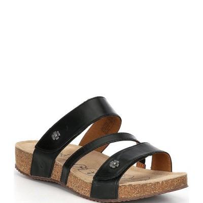 ジョセフセイベル レディース サンダル シューズ Tonga 54 Slide Sandals Black