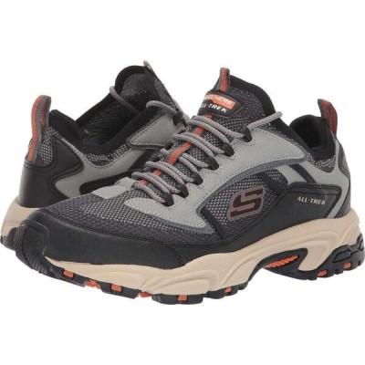 スケッチャーズ SKECHERS メンズ スニーカー シューズ・靴 Stamina 2.0 Berendo Taupe/Black