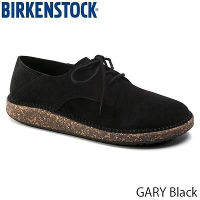 ビルケンシュトック レディース メンズ シューズ ゲイリー レースアップ フラットシューズ 幅狭 ナロー ブラック 黒 GARY BIRKENSTOCK GS1013438 国内正規品