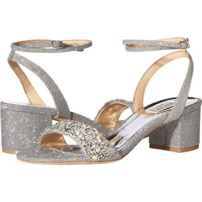 バッジェリー ミシュカ Badgley Mischka レディース サンダル・ミュール シューズ・靴 Jada Silver