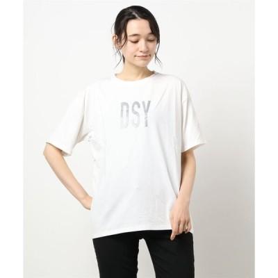 tシャツ Tシャツ ユニセックス反射文字Tシャツ