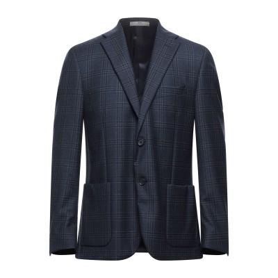 CC COLLECTION CORNELIANI テーラードジャケット ダークブルー 50 バージンウール 100% テーラードジャケット
