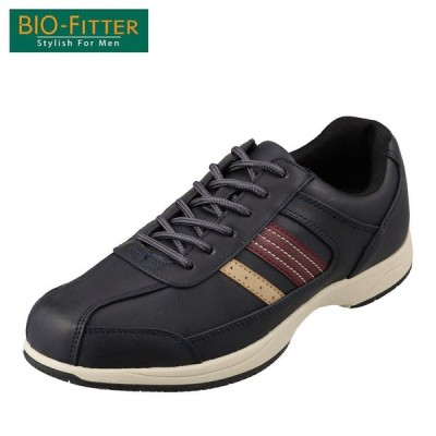 バイオフィッター スタイリッシュフォーメン Bio Fitter BF-4501 メンズ | カジュアルシューズ | 防水 透湿 | ネイビー