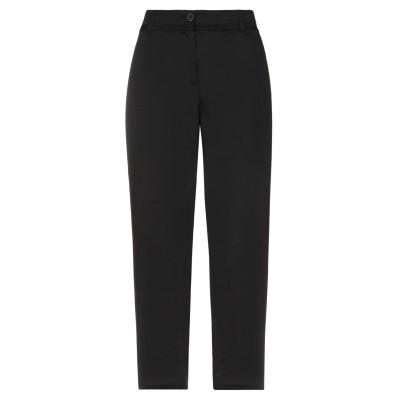 ディアナ ガッレージ DIANA GALLESI パンツ ブラック 52 コットン 97% / ポリウレタン 3% パンツ
