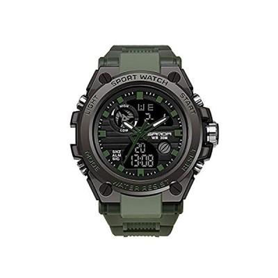 【新品・送料無料】RORIOS Mens Sports Watches Waterproof Digital Watch with Alarm Timer Multif