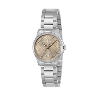 グッチ 腕時計 レディース Gタイムレス ブラウン YA126594 [並行輸入品]