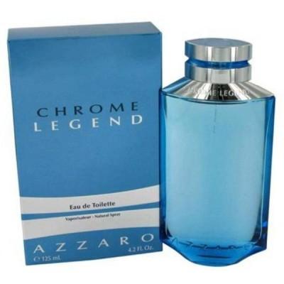 コスメ 香水 女性用 Eau de Parfum  Chrome Legend By Azzaro Eau De Toilette Spray for Men 4.2 Oz. 送料無料