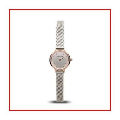 BERING Time レディース スリムウォッチ 11022-064 | 22mm ケース | クラシックコレクション | ステンレススチー