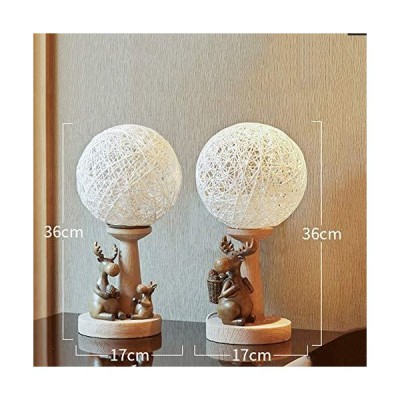 XINGZHE Crafts - Creative Nordic Resin Rattan Ball Crafts, Living Room, Bedroom, Study Practical Decorative Ornaments Crafts (Size 36X7CM) Gift (Shape
