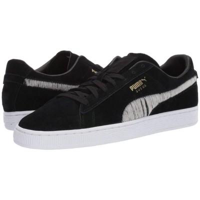 プーマ PUMA メンズ スニーカー シューズ・靴 Suede Ripped Denim Puma Black/Puma Black/Puma White