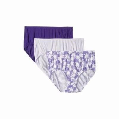ジョッキー ショーツのみ Supersoft Breathe Brief Serene Floral/Perennial Purple/Violet Mist