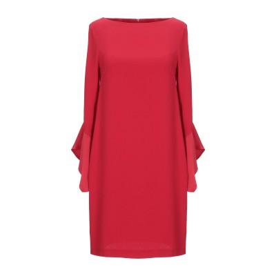 カオス KAOS ミニワンピース&ドレス レッド 38 ポリエステル ミニワンピース&ドレス