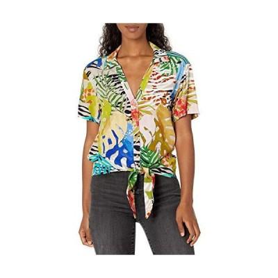 Desigual レディース シャツ 半袖 US サイズ: Small