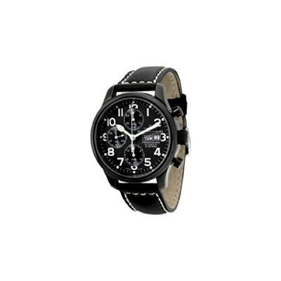 Zeno-Watch-Basel Men´s Watch Automatic 9557TVDD-bk-a1 並行輸入品