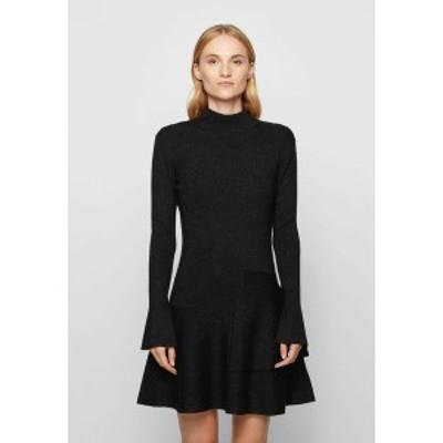 ボス レディース ワンピース トップス FIEN - Day dress - black black