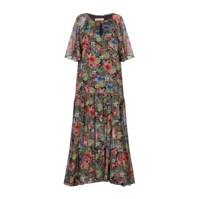 TRAFFIC PEOPLE 7分丈ワンピース・ドレス ミリタリーグリーン S ポリエステル 100% 7分丈ワンピース・ドレス