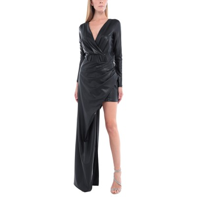 パトリティア ペペ セーラ PATRIZIA PEPE SERA ミニワンピース&ドレス ブラック 1 ポリエステル 95% / ポリウレタン 5%