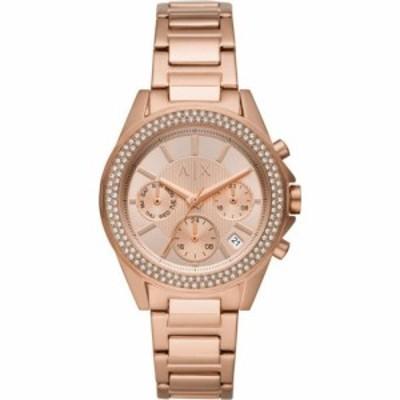 アルマーニ Armani Exchange レディース 腕時計 クロノグラフ Chronograph Watch Gold