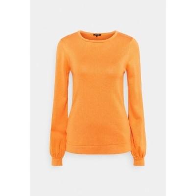 モア アンド モア ニット&セーター レディース アウター Jumper - orange dust