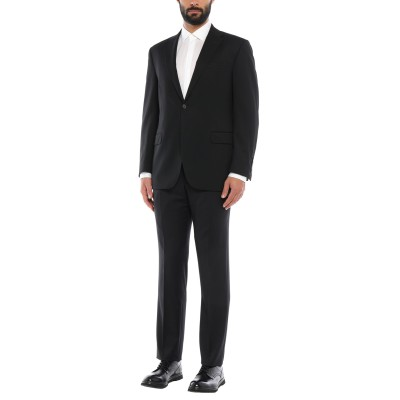TREND CORNELIANI スーツ ブラック 54 バージンウール 99% / ポリウレタン 1% スーツ