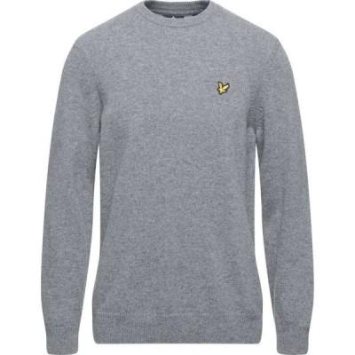 ライル アンド スコット LYLE & SCOTT メンズ ニット・セーター トップス Sweater Grey