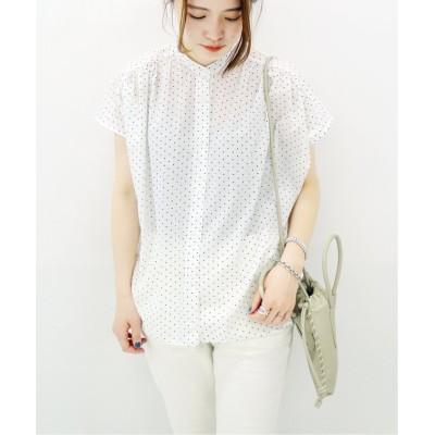 (JOURNAL STANDARD/ジャーナルスタンダード)《追加》80ローンギャザーシャツ ◆2/レディース ホワイトA