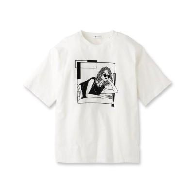 LINE ARTがーるTシャツ 170-22308