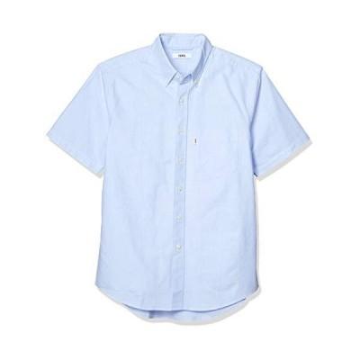 [エドウィン] シャツ 【公式】EDWIN ボタンダウンシャツ 半袖 メンズ ET2115 ブルー 日本 S (日本サイズS相当) 肌着