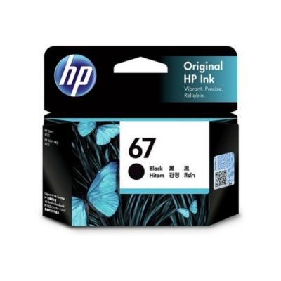 HP No.67 黑色原廠墨水匣(3YM56AA)