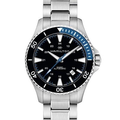 腕時計 HAMILTON [ハミルトン] 腕時計 Khaki Scuba (カーキ スキューバ)  オート 自動巻き 40MM ステンレススチール ブ