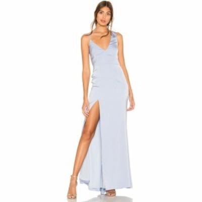 エヌビーディー NBD レディース パーティードレス ワンピース・ドレス Negroni Gown Baby Blue