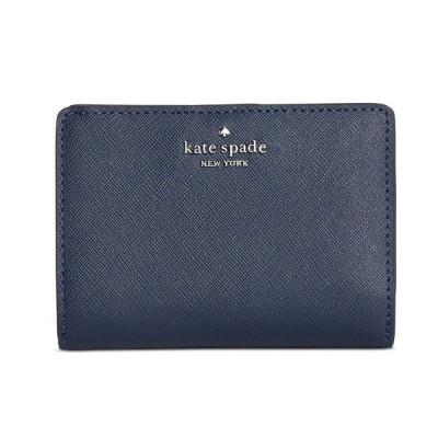 ケイトスペード 二つ折り財布 Kate Spade Newbury Lane Cara Bifold Wallet (Nightcap) ニューベリー レーン カーラ バイフォールド ウォレット