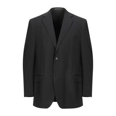 LUBIAM テーラードジャケット ダークブルー 54 バージンウール テーラードジャケット
