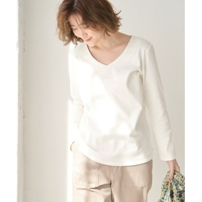 ROPE' PICNIC / 【ORGABITS】ベーシックVネックトップス WOMEN トップス > Tシャツ/カットソー