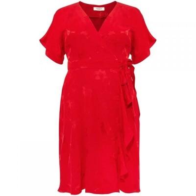 スタジオ8 Studio 8 レディース ワンピース ワンピース・ドレス Orla Wrap Jacquard Dress Red