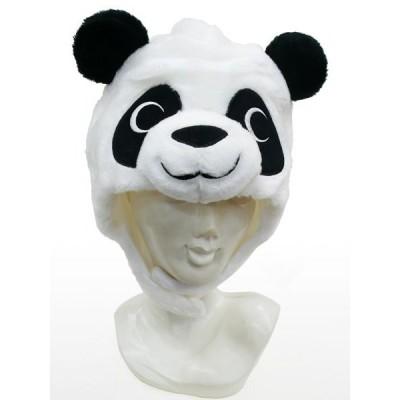 パンダ 着ぐるみキャップ かぶりもの 動物 帽子