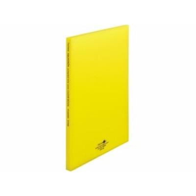 AQUA DROPs クリヤーブック厚口 A4 10ポケット 黄 リヒトラブ N5100-5