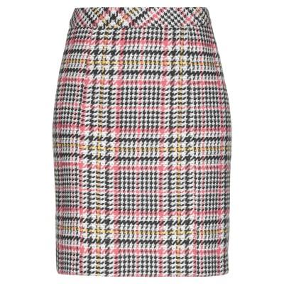 GESTUZ ひざ丈スカート ホワイト 38 ポリエステル 100% ひざ丈スカート