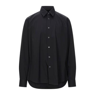 ブライアン デールズ BRIAN DALES シャツ ブラック 44 コットン 80% / ナイロン 15% / ポリウレタン 5% シャツ